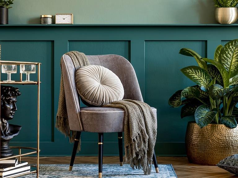 Krzesło zpoduszką ikcoem
